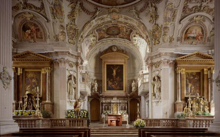 Klosterkirche St. Quirinus Tegernsee